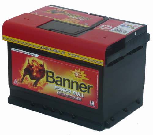 Banner Power Bull 60 Ah jobb + P6009