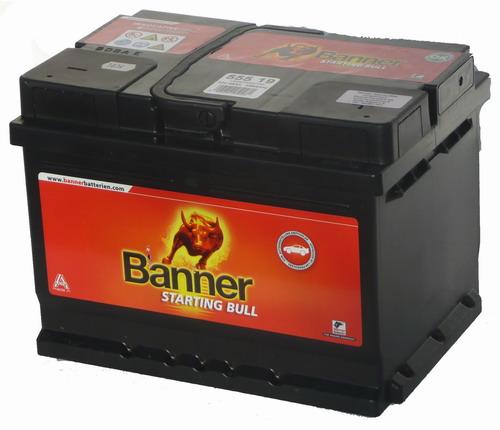 Banner Starting Bull 55 Ah jobb + 55519